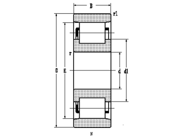 单列圆柱滚子轴承