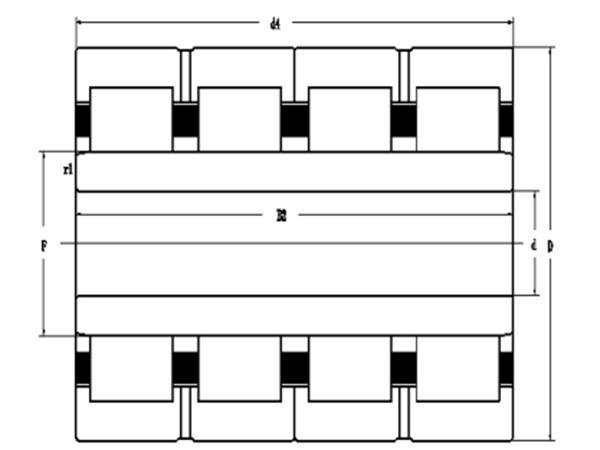 四列圆柱滚子轴承